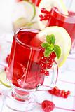 Refreshing summer ice tea