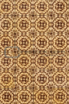 Portuguese glazed tiles 175
