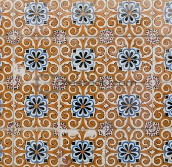 Portuguese glazed tiles 176