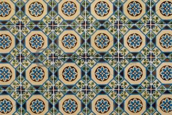 Portuguese glazed tiles 182