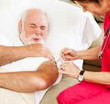 Home Healthcare - Painful Injection