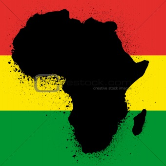 african ink vector illustration