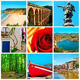 Catalonia collage