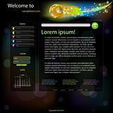 Football website template