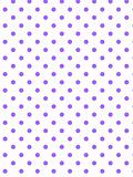 Vector Eps8 White Background with Purple Polka Dots