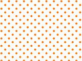 Vector Eps8 White Background with Orange Polka Dots