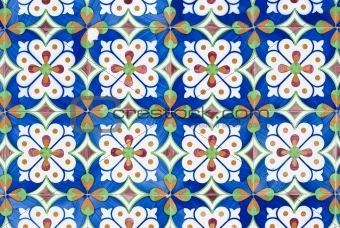 Portuguese glazed tiles 153