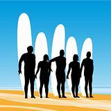 Surf pose