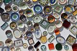 Colorful ceramics for sale in Portugal