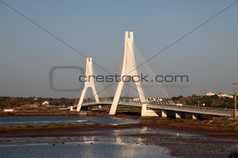 Arade River Bridge at Portimao, Algarve Portugal
