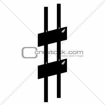 3D Sharp Symbol