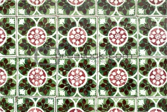 Portuguese glazed tiles 039