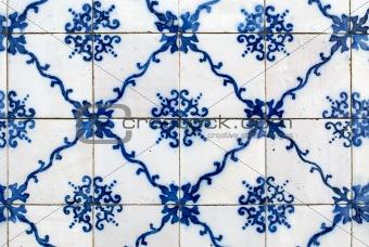 Portuguese glazed tiles 037