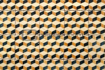Portuguese glazed tiles 033