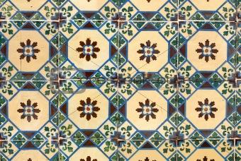 Portuguese glazed tiles 032
