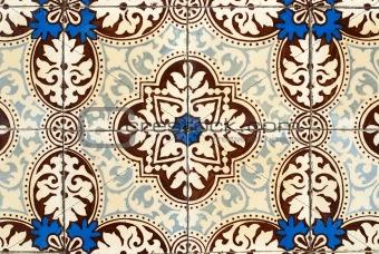 Portuguese glazed tiles 031