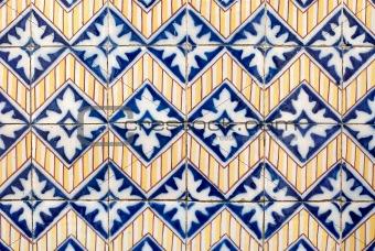 Portuguese glazed tiles 030