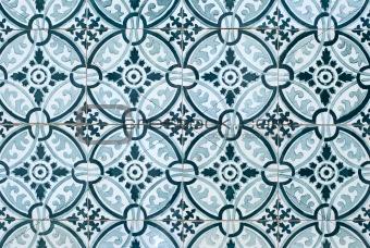 Portuguese glazed tiles 027