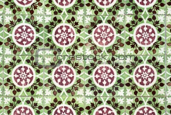 Portuguese glazed tiles 026
