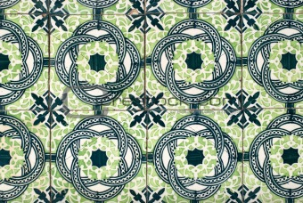 Portuguese glazed tiles 025