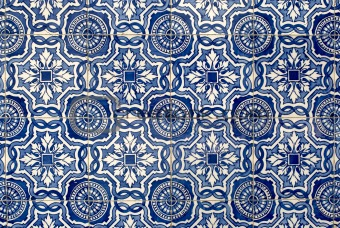 Portuguese glazed tiles 020