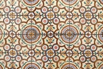 Portuguese glazed tiles 019