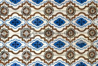 Portuguese glazed tiles 017