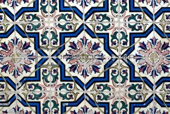 Portuguese glazed tiles 016