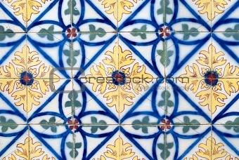 Portuguese glazed tiles 014
