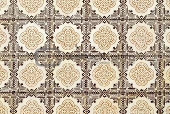 Portuguese glazed tiles 012