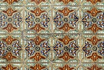 Portuguese glazed tiles 011