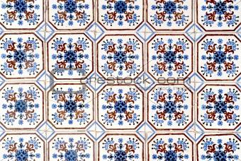 Portuguese glazed tiles 010