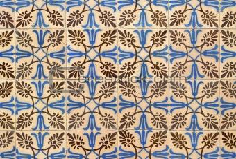 Portuguese glazed tiles 003