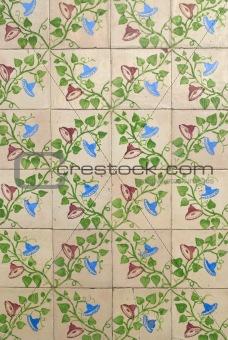 Portuguese glazed tiles 004