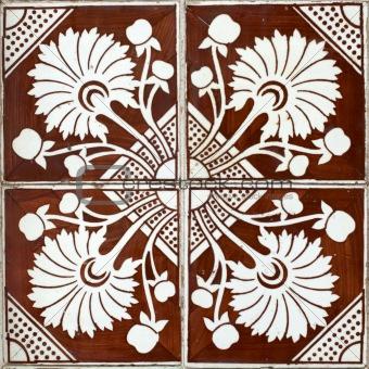 Portuguese glazed tiles 006