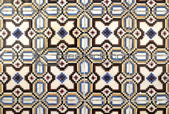 Portuguese glazed tiles 008