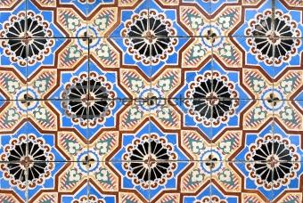 Portuguese glazed tiles 043