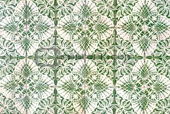 Portuguese glazed tiles 048