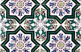 Portuguese glazed tiles 052