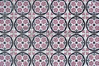 Portuguese glazed tiles 053
