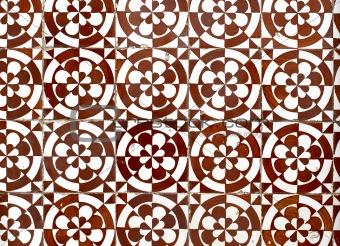 Portuguese glazed tiles 055