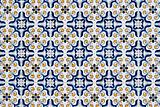 Portuguese glazed tiles 059