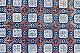 Portuguese glazed tiles 061