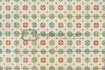 Portuguese glazed tiles 062