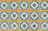 Portuguese glazed tiles 063