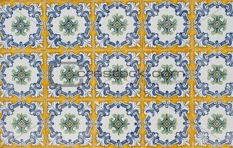 Portuguese glazed tiles 063