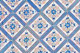 Portuguese glazed tiles 064