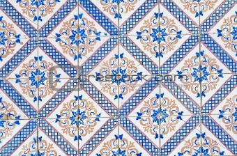 Portuguese glazed tiles 064