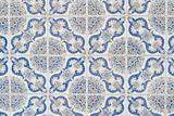 Portuguese glazed tiles 066