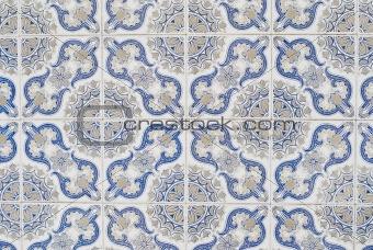 Portuguese glazed tiles 066